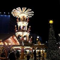 Photo taken at Weihnachtsmarkt an der Gedächtniskirche by S. Mango on 12/5/2012
