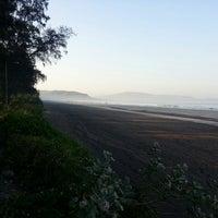 Photo taken at Murud Beach by Rob G. on 4/12/2014