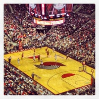 Photo taken at Moda Center at The Rose Quarter by Justin M. on 1/17/2013