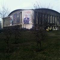 Photo taken at Sala Palatului by Ana B. on 3/6/2013