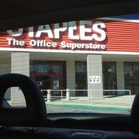 Photo taken at Staples by Linda K. on 10/28/2012