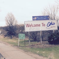 Photo taken at Ohio / Indiana - State Line by Abdullah Yilmaz T. on 4/12/2015