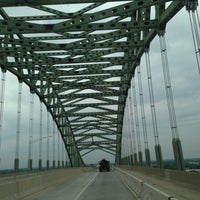 Photo taken at Burlington–Bristol Bridge by Abdullah Yilmaz T. on 7/12/2013