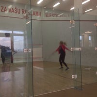 Photo taken at Squash Center by Olga V. on 4/22/2016