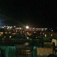 Photo taken at Jimbaran Bay Seafood by Vikri H. on 11/2/2012