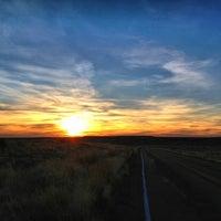 Photo taken at Painted Desert by caren r. on 3/26/2013