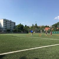 Photo taken at ASVÖ-Wien Sportanlage Speising by Tymon W. on 6/24/2016