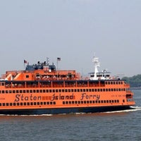 Photo taken at Staten Island Ferry - Whitehall Terminal by Alex H. on 6/16/2013