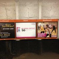 Photo taken at SEPTA BSL/TRL Girard Station by Sharyn F. on 1/19/2013