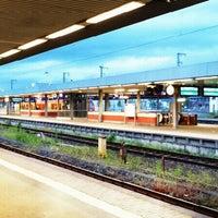 Photo taken at Saarbrücken Hauptbahnhof by Projekt Netzwerk S. on 5/29/2013