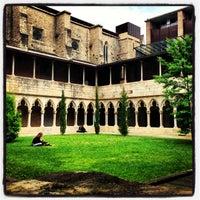 Photo taken at Facultat Lletres Universitat de Girona by Joan P. on 5/27/2013
