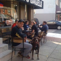 Photo taken at Sam's Bagels by Vicki M. on 9/30/2012