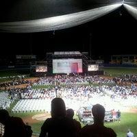 Photo taken at Stadio Baseball by Alessia P. on 8/15/2013