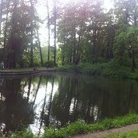 Photo taken at Парк Лесотехнической Академии by Тамара on 5/27/2013