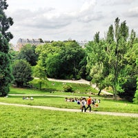 Photo taken at Buttes Chaumont Park by Dimitri J. on 7/1/2013
