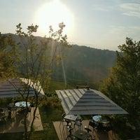 Photo taken at Boscareto Resort & Spa Serralunga d'Alba by Mina R. on 8/18/2016