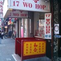 Photo taken at Wo Hop Restaurant by Yolanda M. on 7/7/2013