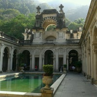 Photo taken at Parque Lage by Marina F. on 6/8/2013