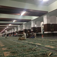 Photo taken at Masjid Agung Sunan Ampel by Arie B. on 7/14/2013