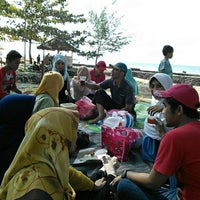 Photo taken at Tanjung Lesung by Fadhil H. on 7/8/2016
