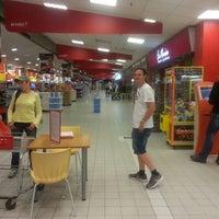 Photo taken at Rimi Hypermarket by Reda B. on 7/15/2013