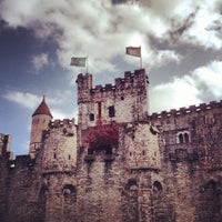 Photo taken at Castle of the Counts by Aleksandr S. on 5/10/2013