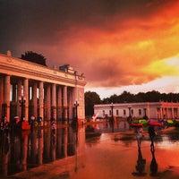 Photo taken at Gorky Park by Aleksandr S. on 7/20/2013