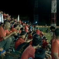 Photo taken at Stadion Andi Mattalatta (Mattoangin) by Muhammad A. on 5/8/2013