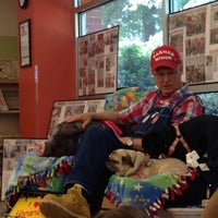 Photo taken at Wake Forest Community Library by Jamie on 6/25/2015
