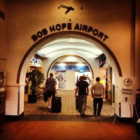 Photo taken at Bob Hope Airport (BUR) by Ishan S. on 6/20/2013