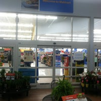 Photo taken at Walmart Supercenter by Chuck F. on 5/11/2013