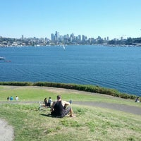 Photo taken at Gas Works Park by Elliot M. on 7/25/2013