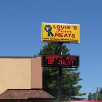 Photo taken at Louie's Finer Meats by Mitch K. on 7/2/2013