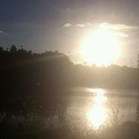 Photo taken at Lac D'Uzurat by Pascale M. on 8/10/2013