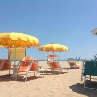 Photo taken at Beach by Lia M. on 7/22/2013