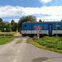 Photo taken at Železniční stanice Horní Planá by maaaca on 9/4/2016