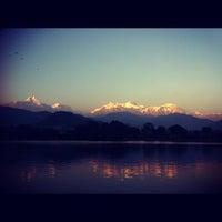 Photo taken at Phewa Tal / Fewa Lake by Mohamad Hilmi O. on 11/19/2012