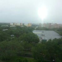 Photo taken at Embassy Suites by Hilton Tampa USF Near Busch Gardens by Kelley F. on 6/4/2013