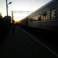 Photo taken at 40-тысячный км Электрификации ЖД РФ by Alexey A. on 6/14/2016