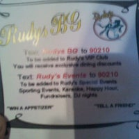 Photo taken at Rudys Baja Grill by Mario L. on 11/8/2011