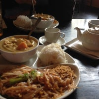 Photo taken at Thai Fusion Bistro by Leena P. on 4/10/2012