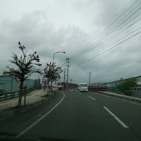Photo taken at 中央橋 by ANN on 9/3/2014