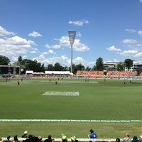 Photo taken at StarTrack Oval by Andrew B. on 2/6/2013