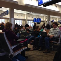 Photo taken at Gate A5 by Caryn M. on 1/6/2014