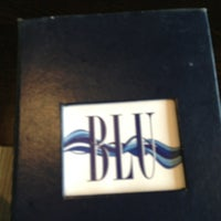 Photo taken at Blu Restaurant & Bar by Laura A. on 7/14/2013