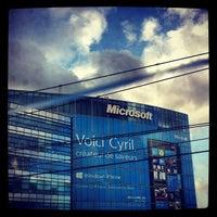 Foto tirada no(a) Microsoft France por Nat F. em 12/11/2012