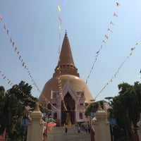 Photo taken at Phra Pathom Chedi by Pongthong S. on 2/23/2013