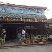 Photo taken at Nira's Home Bakery by Søren S. on 11/9/2012