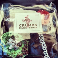 Photo taken at Crumbs Bake Shop by Caressa on 1/8/2013