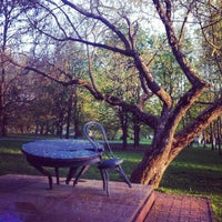 Photo taken at Мемориальный сквер by Надя Е. on 4/22/2014